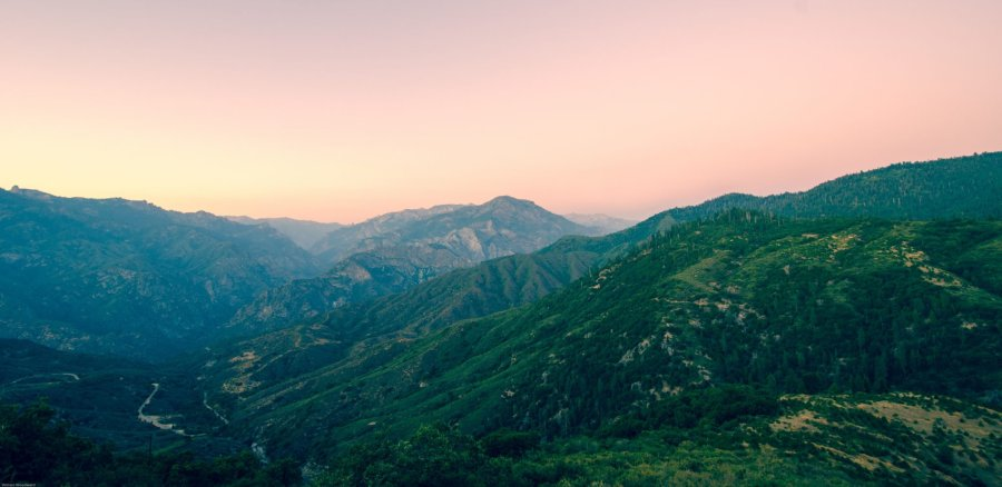 Sunset California Hume Lake William Woodward