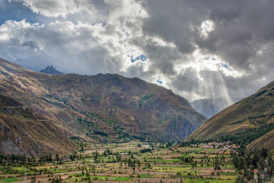 Peru Mountains William Woodward