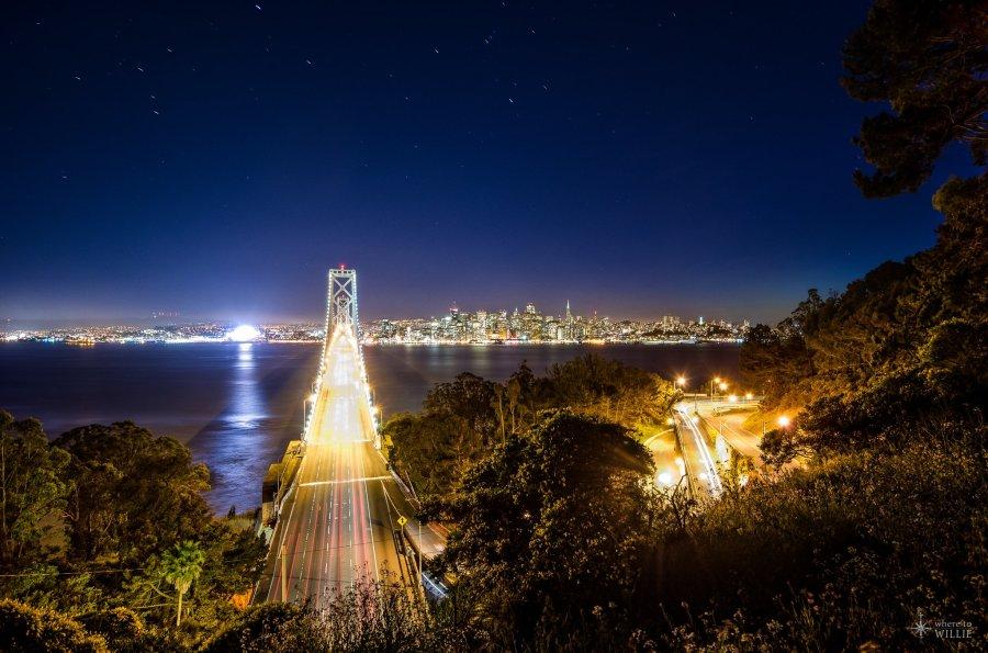 Night Fades San Francisco William Woodward