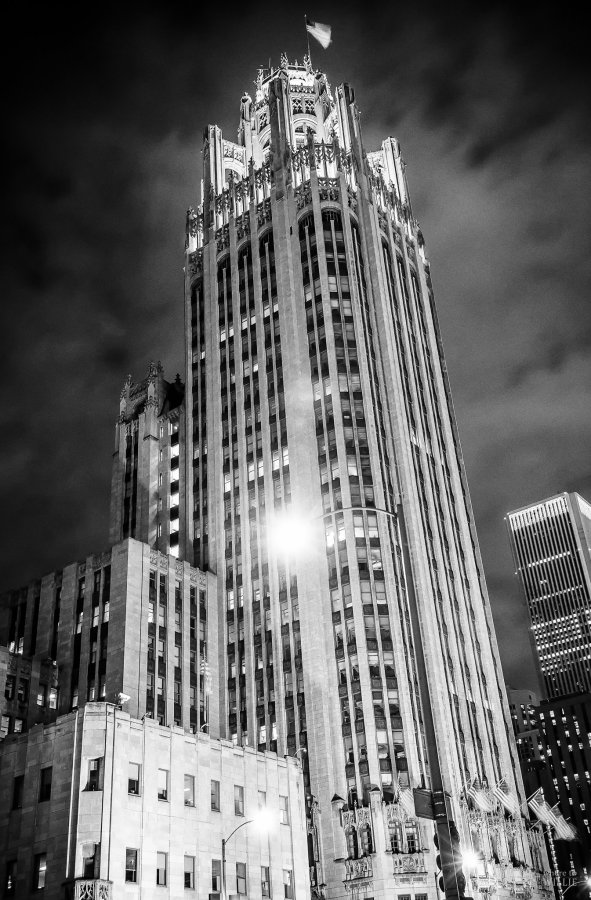 Tribune Tower Chicago William Woodward