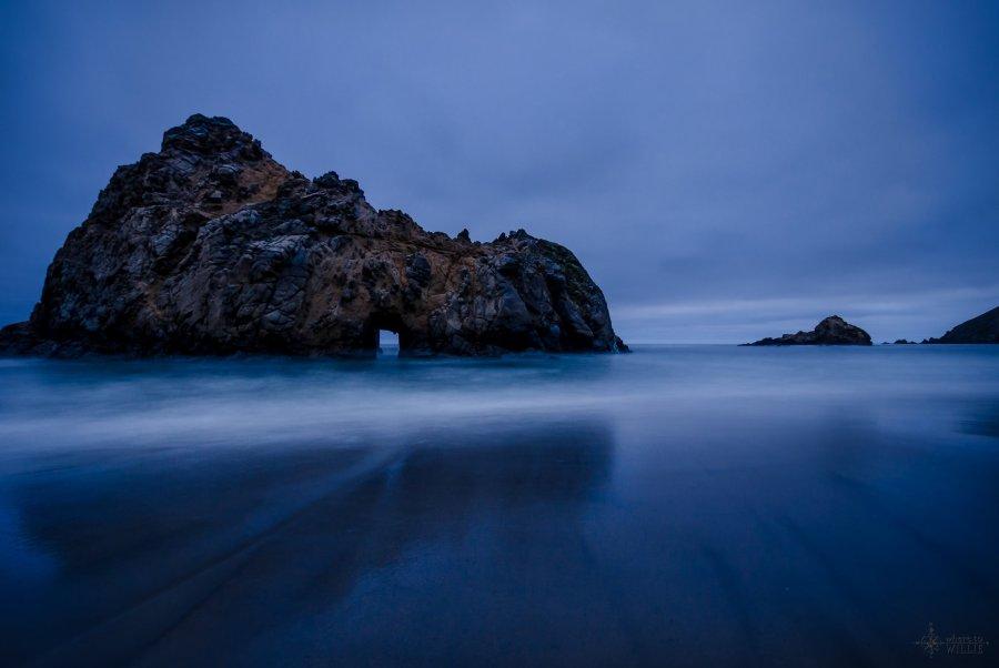 Waves Pheiffer Beach William Woodward