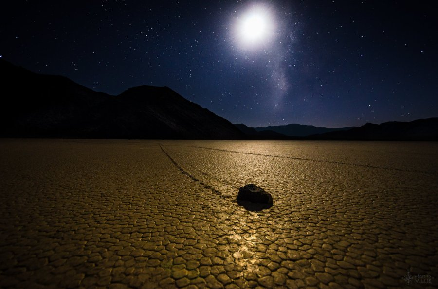 racetrack playa death valley william woodward