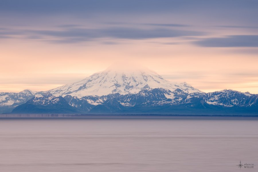mt redoubt kenai peninsula william woodward