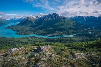 Crystal Blue - Slaughter Gulch Trail - Cooper Landing, Alaska