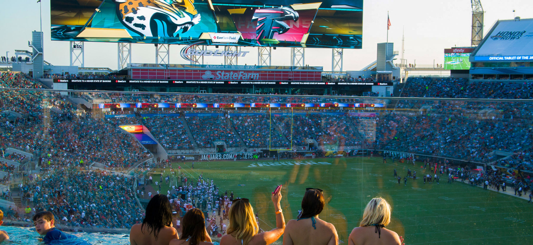 Private areas are not to be accessed. Jacksonville's Fantasy Football Stadium | WhereTraveler