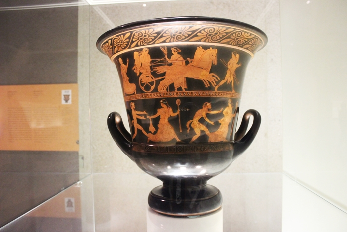 The 1st millennium BC where we meet the Greeks and the Romans in the Gulbenkian Museum