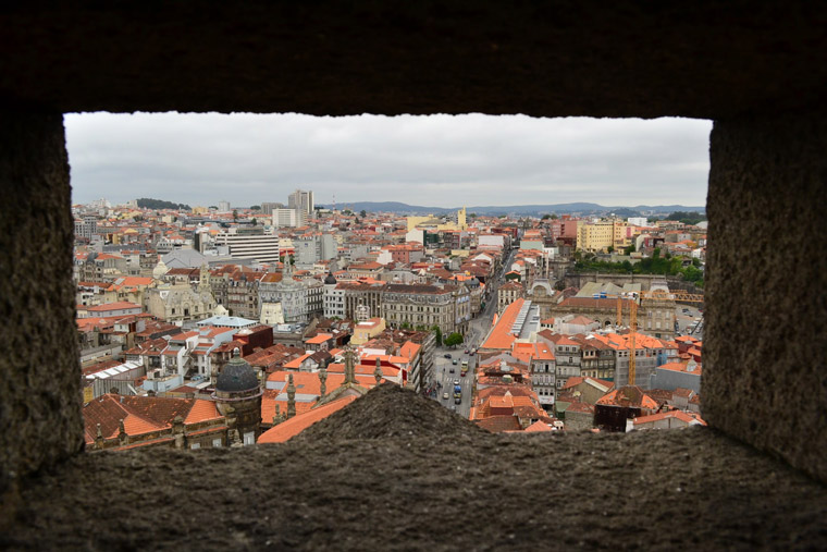 Oporto-from-Torre-dos-Clérigos