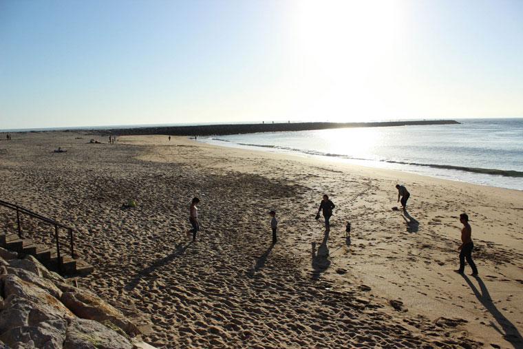 Beach Cova do Vapor Trafaria