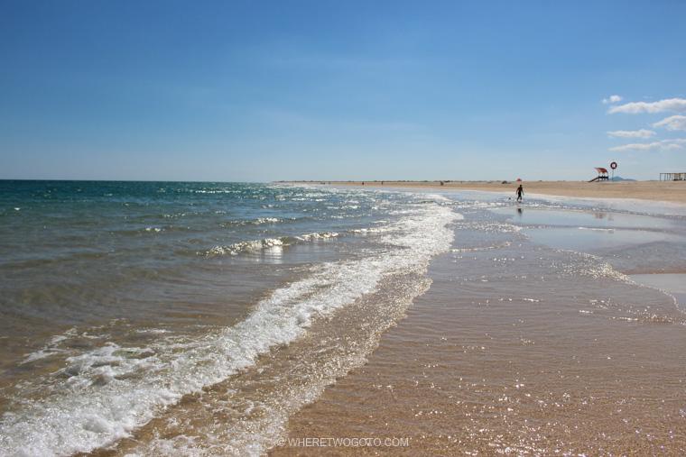 Ilha da Tavira Algarve Portugal Where Two Go To