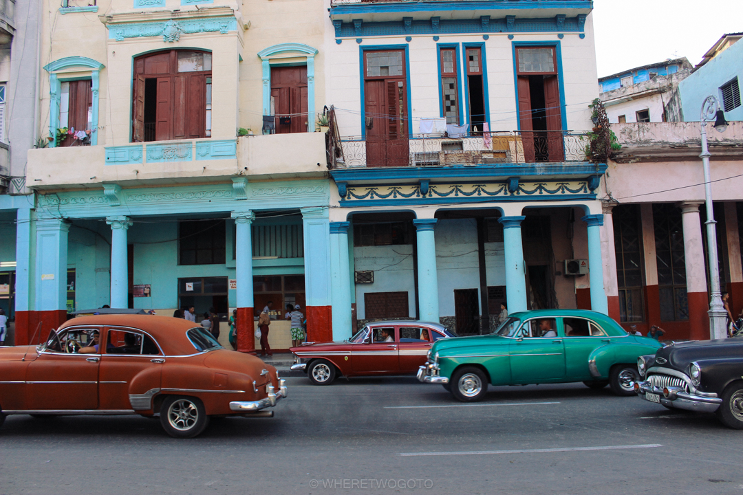 Classic Cars Havana streets Cuba Where Two Go To