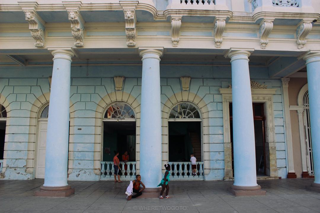 street life in cienfuegos cuba