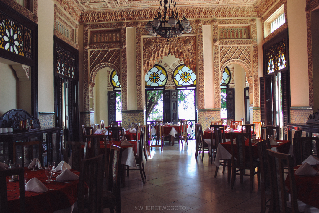 palacio de valle moorish architecture interior design