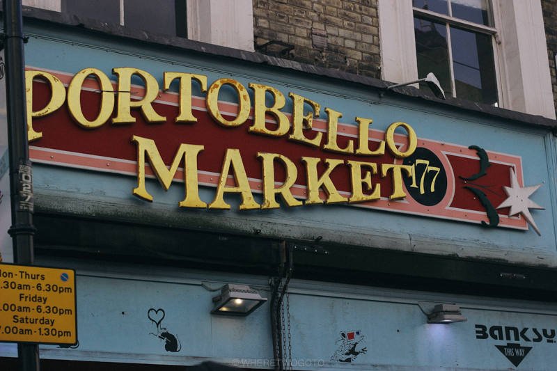 portobello market london