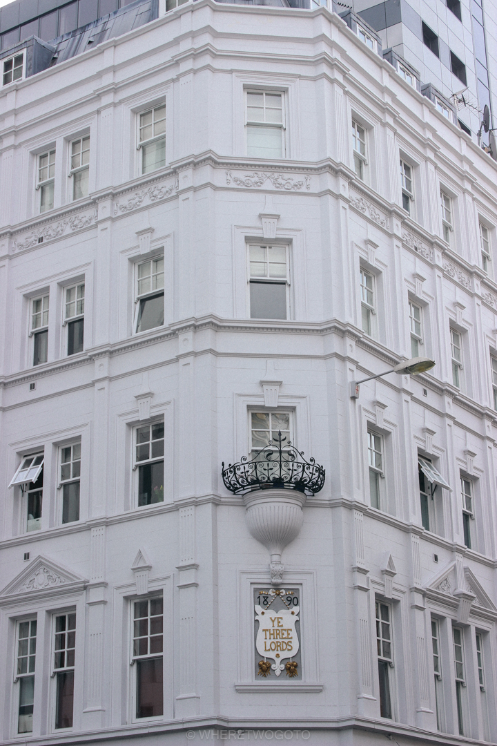 facade in london