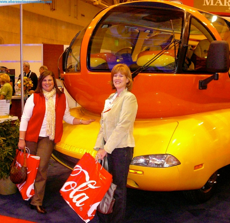 Wherever I May Roam at the Oscar Mayer Weinermobile.