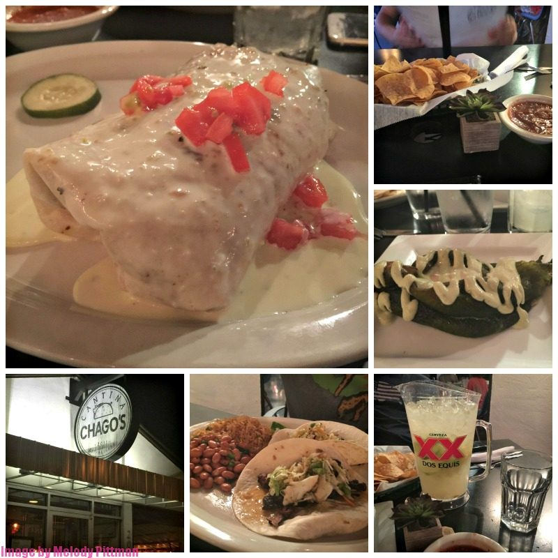 Mexican deliciousness at Chago's Cantina in Nashville.