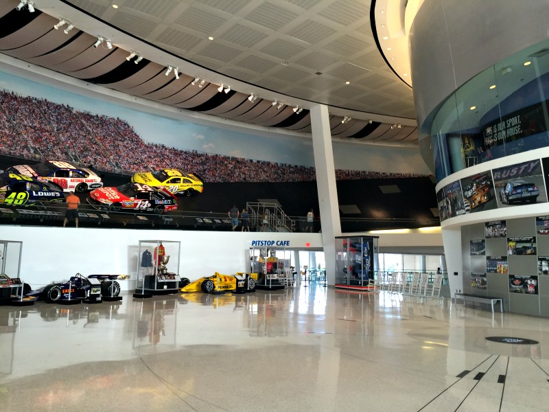 Charlotte, North Carolina NASCAR Hall of Fame