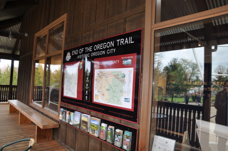 Sites on the Oregon Trail's Lewis and Clark Adventure.