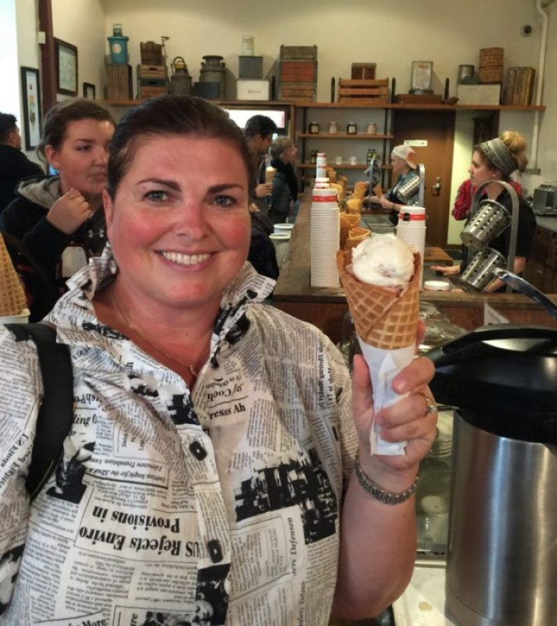 48 hours in portland, oregon Salt & Straw ice cream