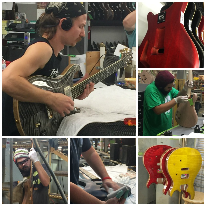 Tour the amazing Paul Reed Smith Guitar Factory which produces handmade top-quality guitars in Queen Anne's County, Maryland.