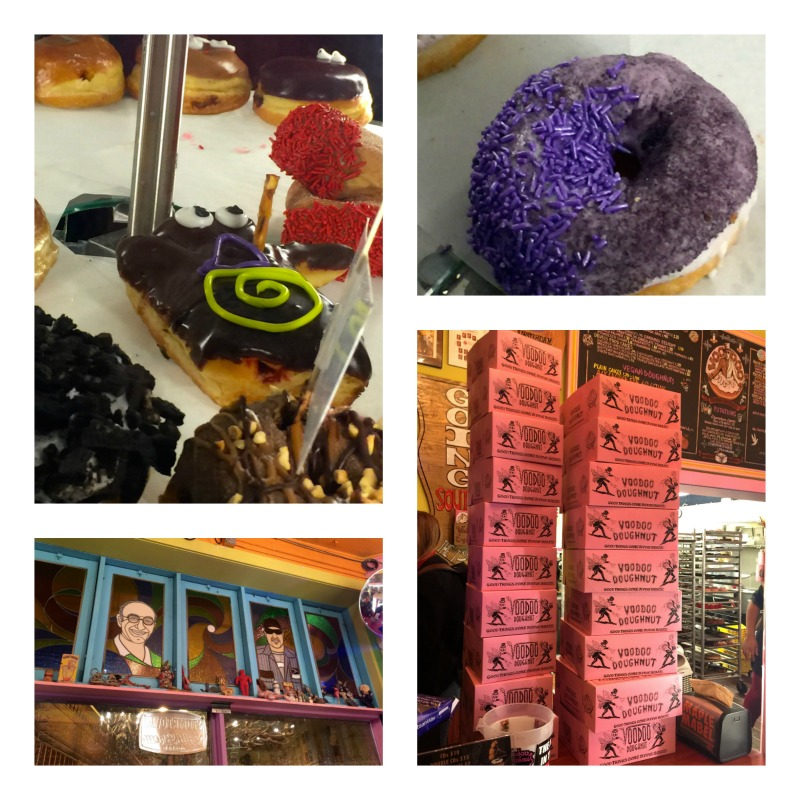 Great selection at Voodoo Donuts in Portland, Oregon.
