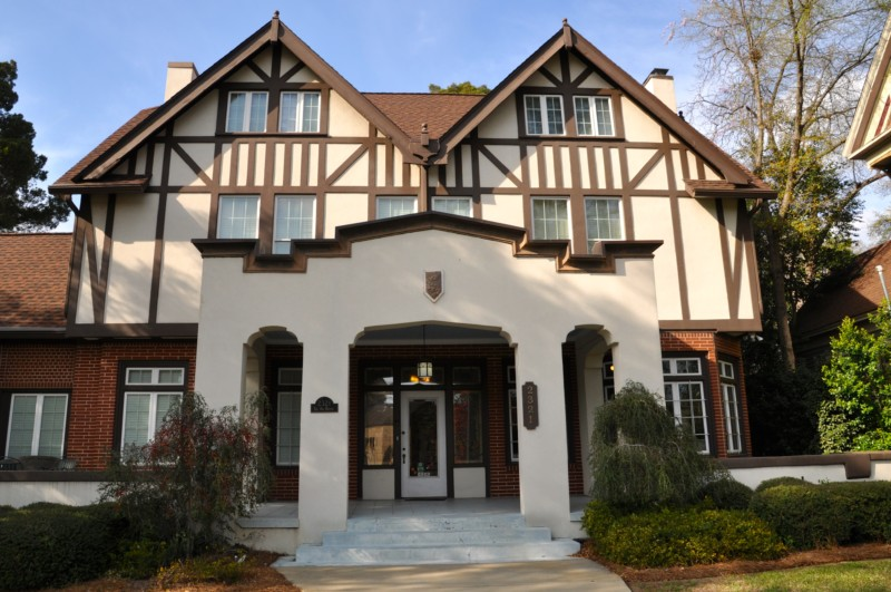 The Big House Museum is a collection of Allman Brothers memorabilia in Macon, Georgia.