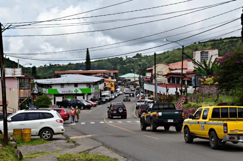 Pictures of Boquete: Downtown