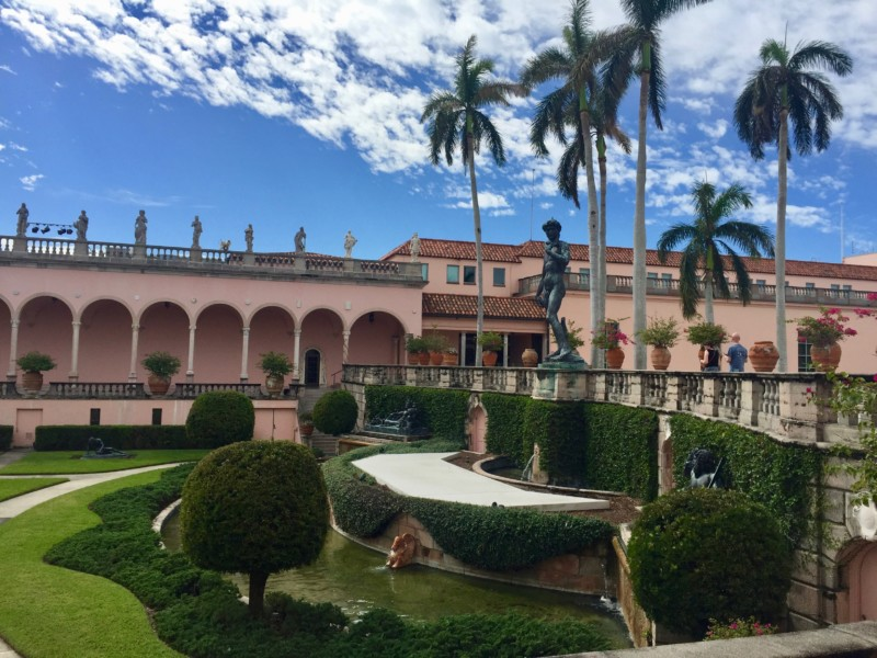 Visiting the Ringling Museum is a must do in Sarasota, Florida.