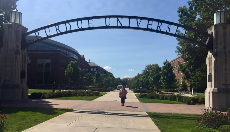 Touring the Purdue campus is a must when visiting West Lafayette, Indiana.