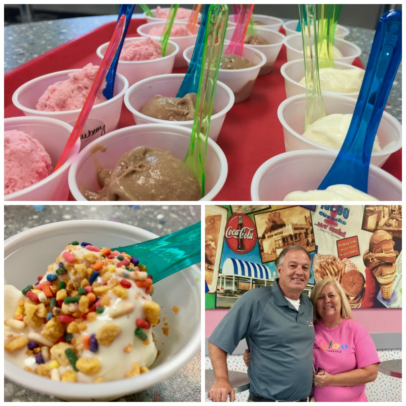 Delicious frozen treats from Igloo Frozen Custard is a must when visiting West Lafayette, Indiana.
