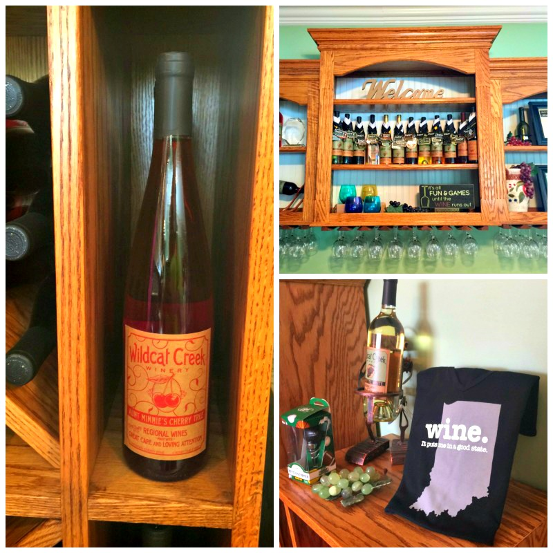 Sampling tasty fruit wines from Wldcat Creek Winery is a must when visiting West Lafayette, Indiana.