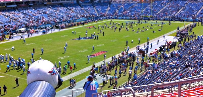 Attending a Titans game is one thing to do in Nashville with and without kids.