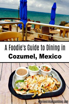The Money Bar is one of the places for delicious dining in Cozumel, Mexico.