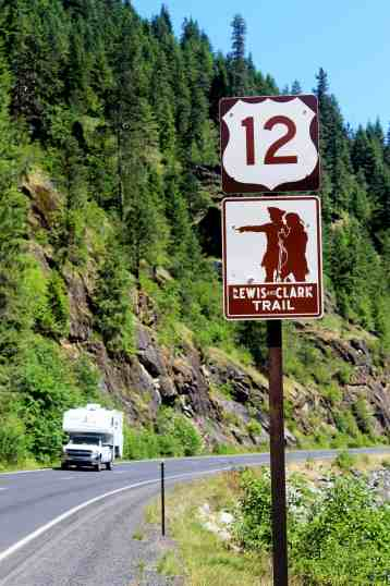 Lewis and Clark Trail U.S. 12 Idaho