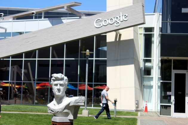 Google sculpture