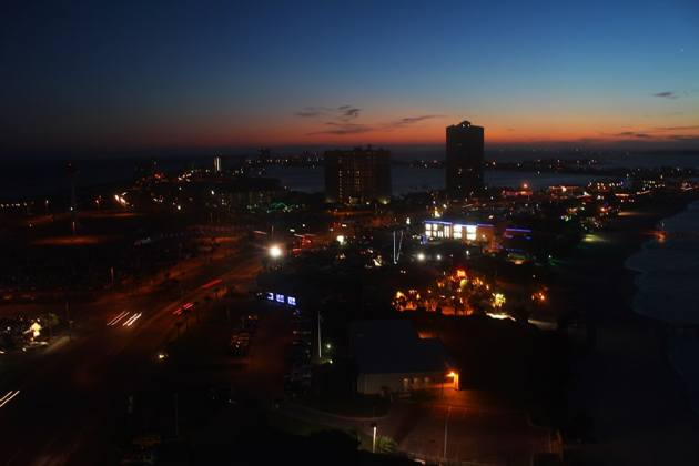 sunset Pensacola Beach