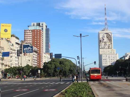 Buenos Aires Evita building