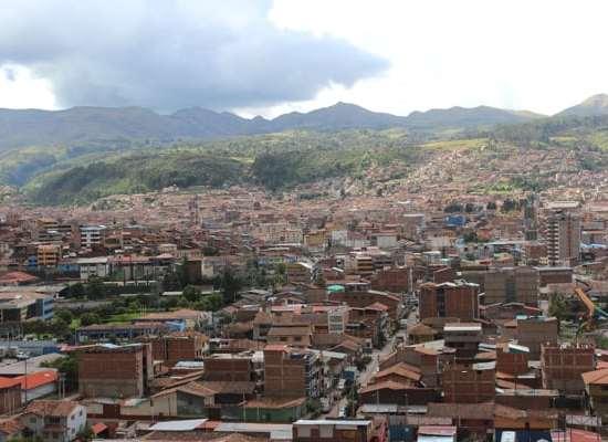 Cusco, Peru view daytime