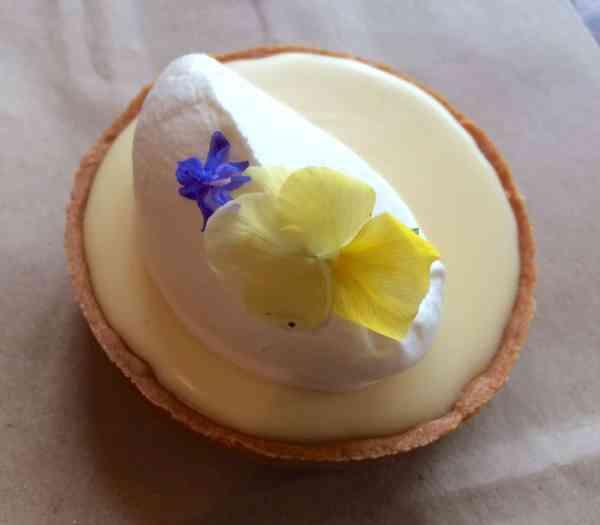 Tartine Bakery Lemon Tart close up