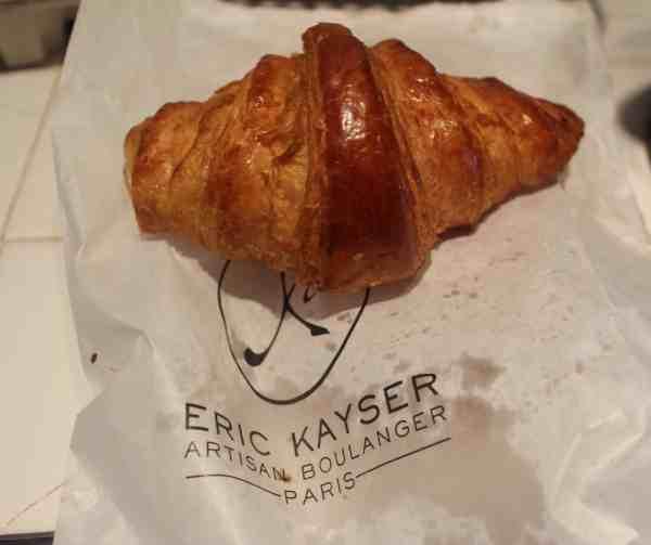 eric kayser croissant in Paris