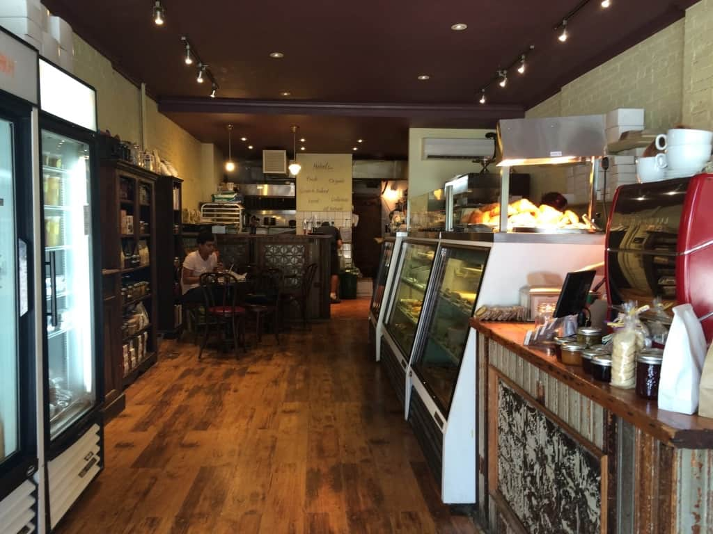 Mabel's Bakery Toronto interior