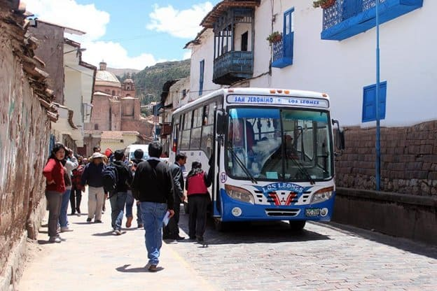 bus in cusco peru