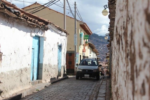 taxi in cusco peru