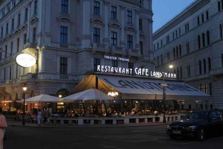 2 Days in Vienna - Cafe Landtmann