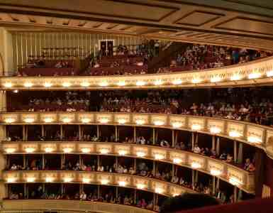 2 Days in Vienna - Standing Room Tickets Vienna Opera House - Inside the stage area of the Vienna State Opera House