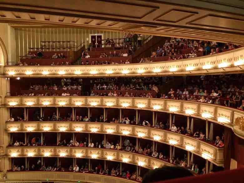 Standing Room Tickets Vienna Opera House - Inside the stage area of the Vienna State Opera House