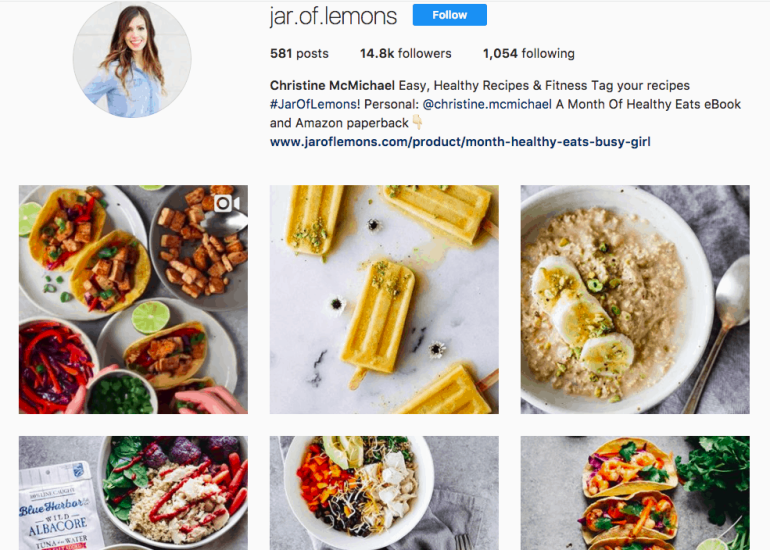 how to monetize a blog - sponsored instagram post 1