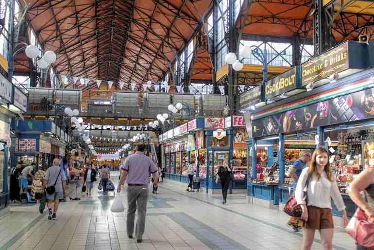 Eastern Europe Itinerary - Great Market Hall Budapest Hungary