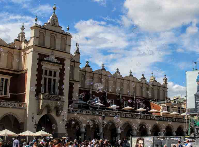 Eastern Europe Itinerary - Main Square, Krakow, Poland