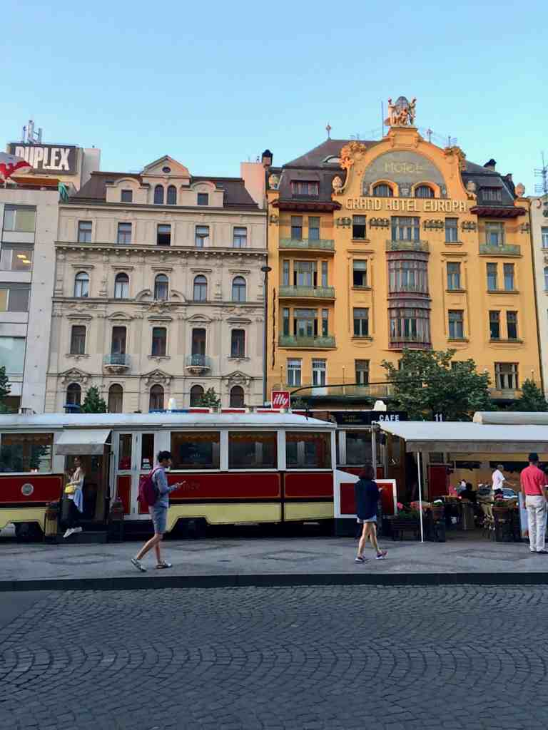 Eastern Europe Itinerary - Wenceslas Square in Prague